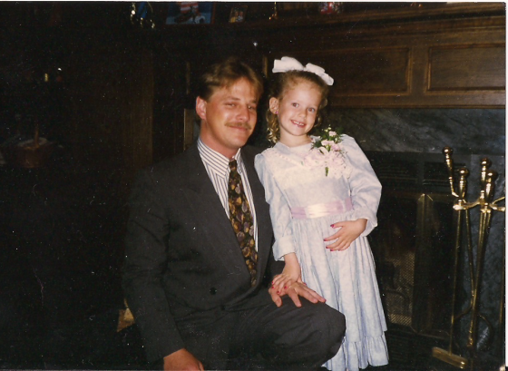 dad and ash