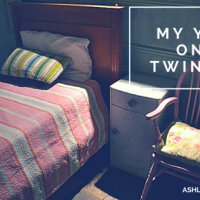My Year on a Twin Bed