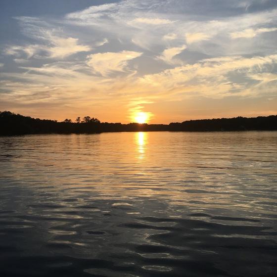 lake-gaston-sunset-2016