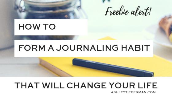 journaling freebie - blog